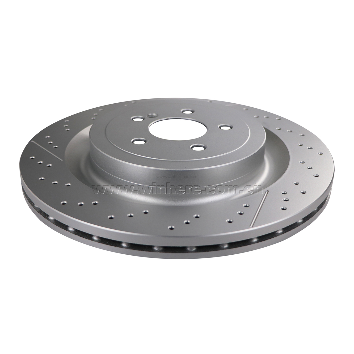 Painted Rear Brake Disc for MERCEDES-BENZ ECE R90