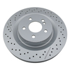 Drilled Brake Disc for OE#A1714230212/1714230212 Rear Vented